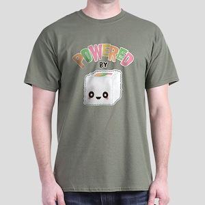 Powered by Sushi Dark T-Shirt