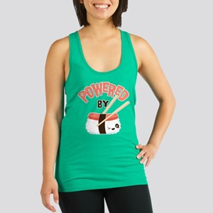 Powered by Nigri Sushi Racerback Tank Top