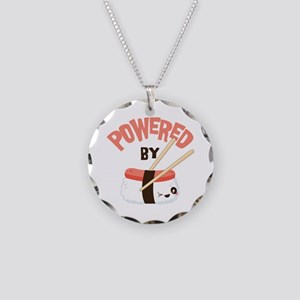 Powered by Nigri Sushi Necklace Circle Charm
