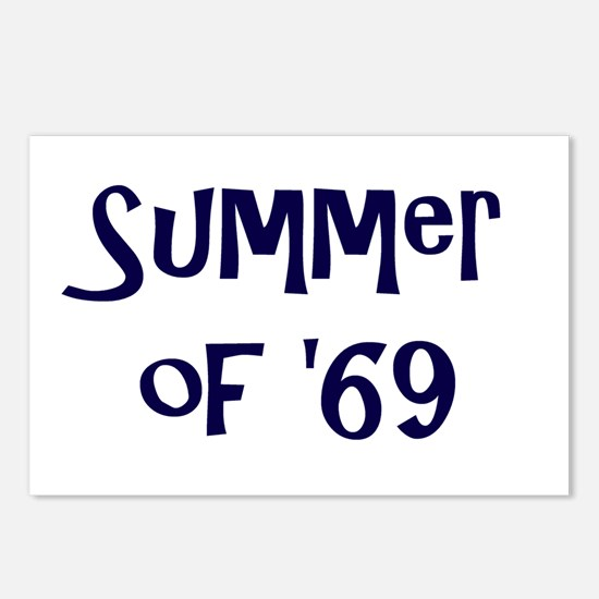 Summer of '69 Postcards (Package of 8)