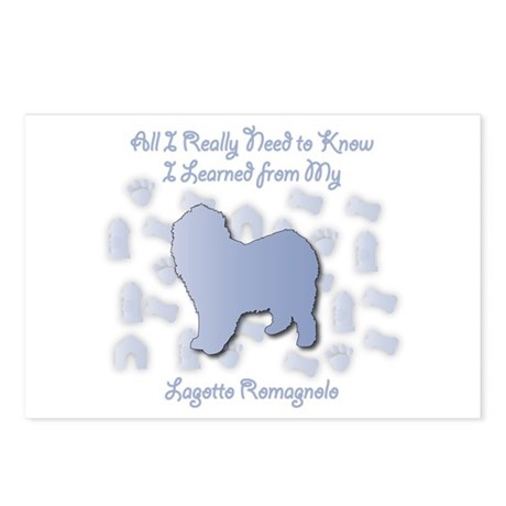 Learned Lagotto Postcards (Package of 8)