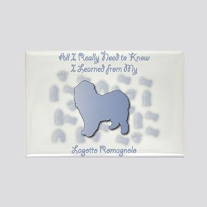 Learned Lagotto Rectangle Magnet