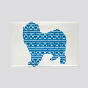 Bone Lagotto Rectangle Magnet