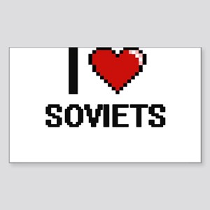 I love Soviets Digital Design Sticker