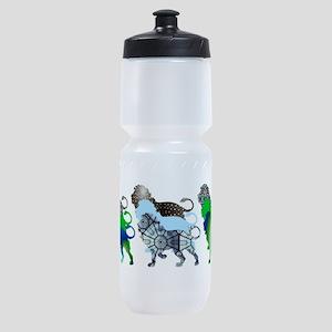 Lots of Lions Design 3 Sports Bottle