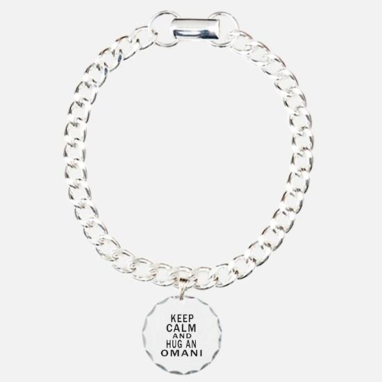 Keep Calm And Omani Desi Bracelet