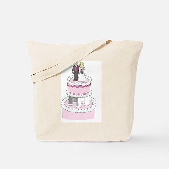Cute Wedding congratulations Tote Bag