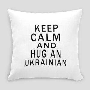 Keep Calm And Ukrainian Designs Everyday Pillow