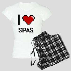 I love Spas Digital Design Women's Light Pajamas