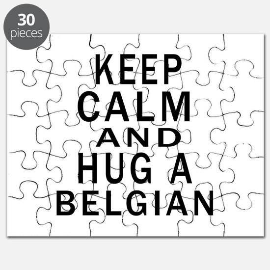 Keep Calm And Belgian Designs Puzzle