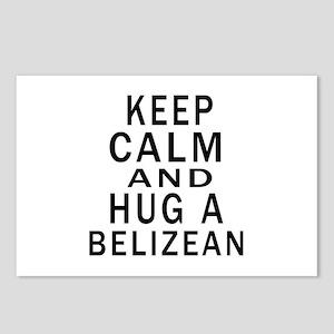 Keep Calm And Belizean De Postcards (Package of 8)