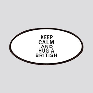 Keep Calm And British Designs Patch