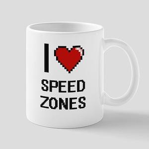 I love Speed Zones Digital Design Mugs