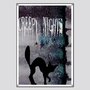 Creepy Nights Banner
