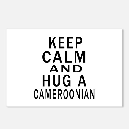 Keep Calm And Cameroonian Postcards (Package of 8)