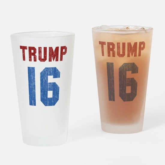 Donald Trump 2016 Drinking Glass