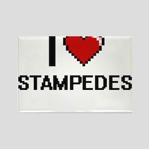 I love Stampedes Digital Design Magnets
