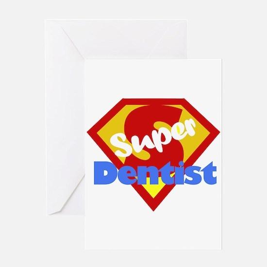 Super Dentist DDS Greeting Card