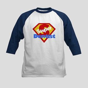 Super Dentist DDS Kids Baseball Jersey