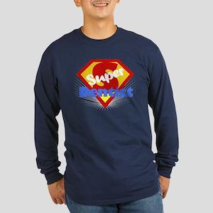 Super Dentist DDS Long Sleeve Dark T-Shirt