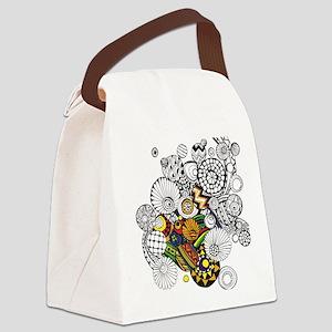 Sketch 1a Canvas Lunch Bag