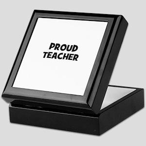 Proud Teacher Keepsake Box