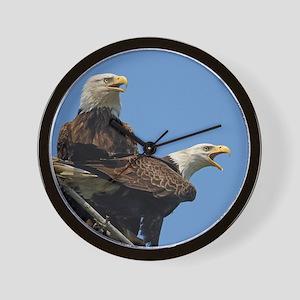 Eagle Parents Wall Clock
