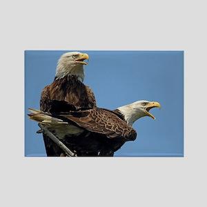 Eagle Parents Rectangle Magnet