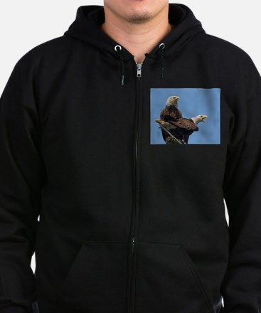 Eagle Parents Zip Hoodie (dark)