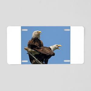 Eagle Parents Aluminum License Plate