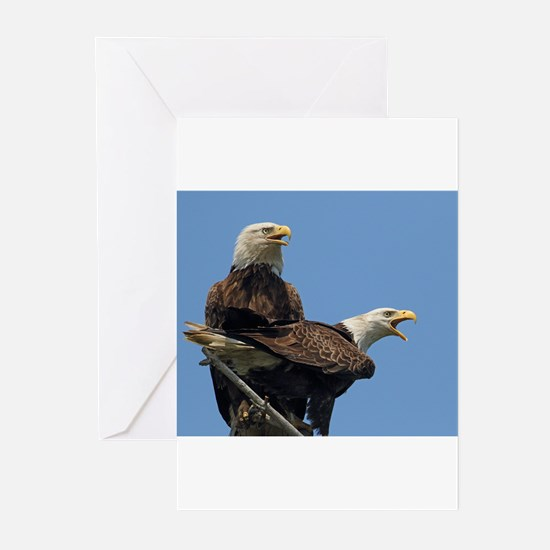 Eagle Parents Greeting Cards