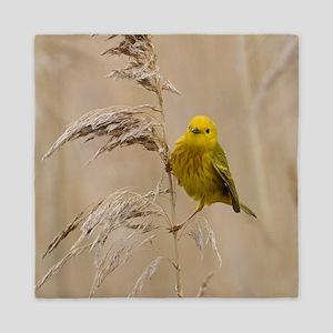 Yellow Warbler Queen Duvet