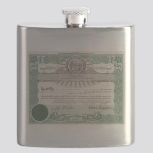 Baseball of Toledo Flask