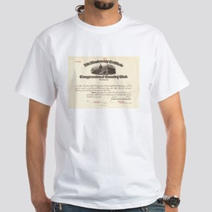 Congressional Country Club White T-Shirt