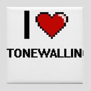 I love Stonewalling Digital Design Tile Coaster