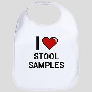 I love Stool Samples Digital Design Bib