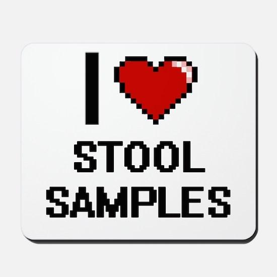 I love Stool Samples Digital Design Mousepad