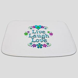 Live Laugh Love Bathmat