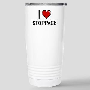 I love Stoppage Digital Stainless Steel Travel Mug