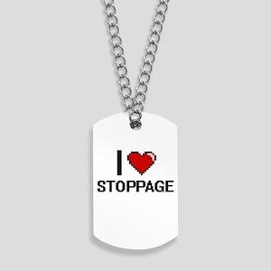 I love Stoppage Digital Design Dog Tags