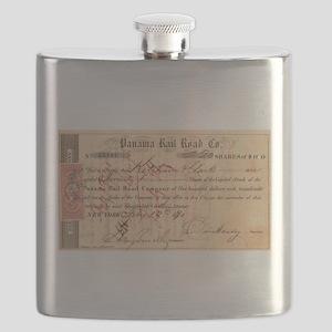 Panama Railroad Flask