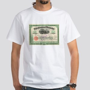 Providence and Worcester RR White T-Shirt