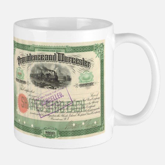 Providence and Worcester RR Mug