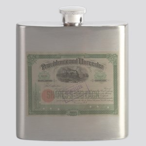 Providence and Worcester RR Flask