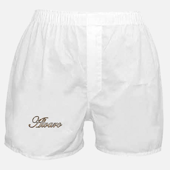 Gold Alvaro Boxer Shorts