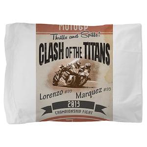 Clash of the Titans Pillow Sham