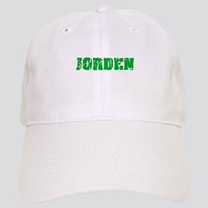 Jorden Name Weathered Green Design Cap
