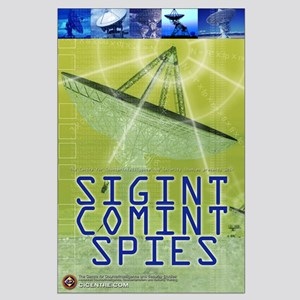 SIGINT/COMINT Spies 23x35 Large Poster