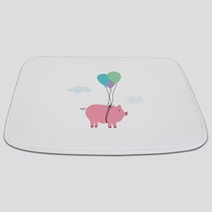 Funny Pig Quotes Bath Mats Cafepress