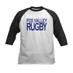 Fox Valley Rugby Kids Baseball Tee